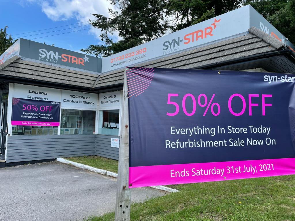 Refurbishment Sale Now On